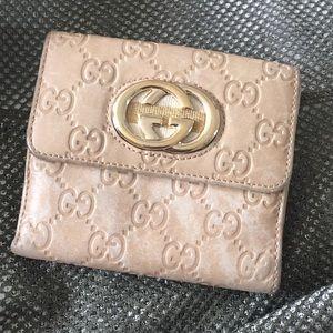 ‼️REDUCED‼️Gucci Guccissima Interlock Wallet